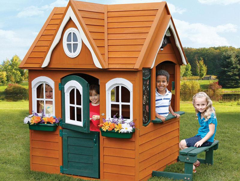 מעולה בית משחקים לילדים דגם בית החלומות מידות 1.80*1.37*1.77 IZ-01